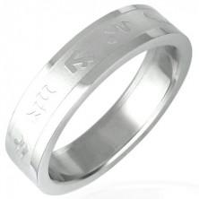 Prsten od nehrđajućeg čelika - zodijak