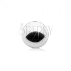 Piercing loptica za zamjenu, nehrđajući čelik srebrne boje