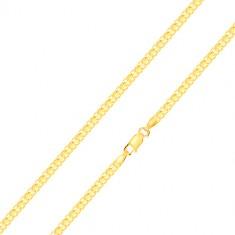 Narukvica od 585 zlata – serijski povezane karike, 200 mm
