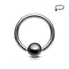 Prsten za tijelo s tamnom kuglicom