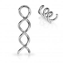Piercing za uho - spirala DNA
